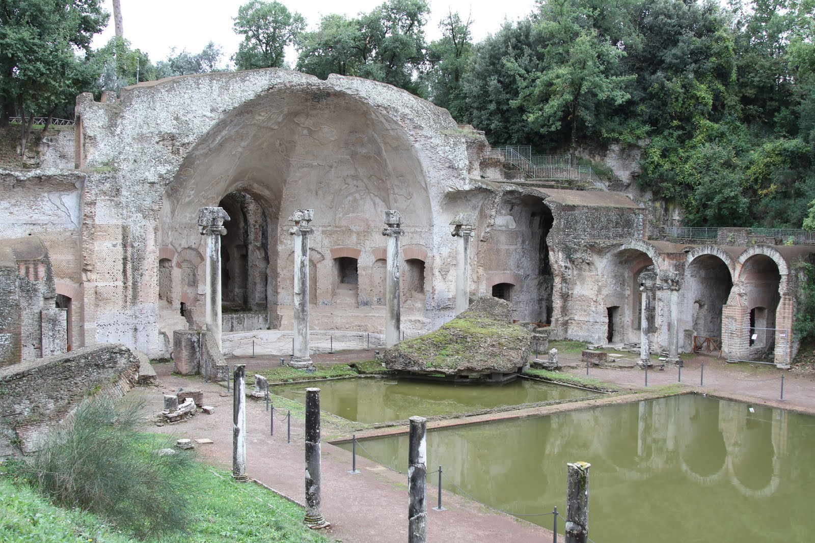 Villa Adriana Ruins