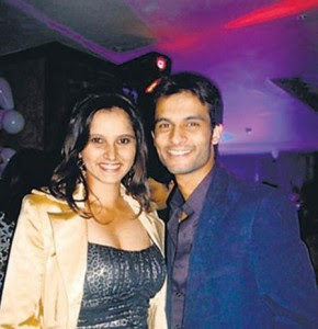 Sania Mirza with Ex-Lover stills