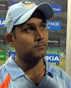 Indian Cricket team Vice Captain Virendra Shewag expecting the man of the match result