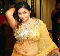 Namitha saree glamour image