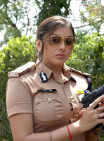 Telugu actress namitha in police getup picture