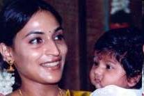 Danush Aswarya Baby Ruthra photos