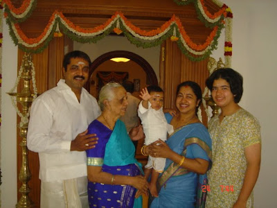 Sarathkumar -Radhika Family photos