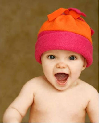 Happy baby laughing pictures