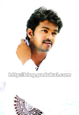 ndian Actor Vijay wearing White color dress pics