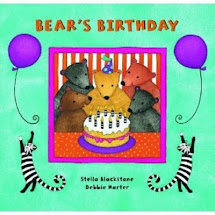 Birthday Bear Book