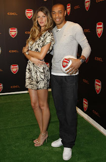 Two World Stars: Gisele and Thierry Henry