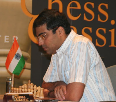 World Champion Viswanathan Anand