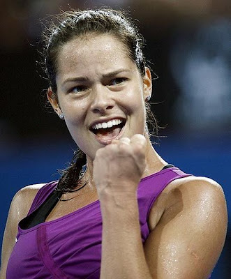 Anna Ivanovic Servian Player Tennist