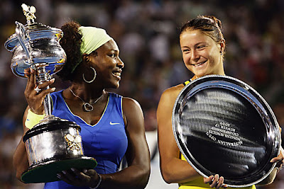 Serena Williams and Safina