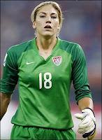 USA Women Soccer Goal keeper solo Hope