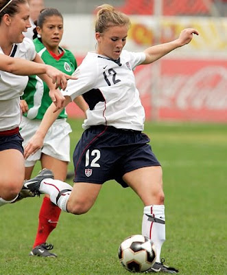 Amy Rodriguez, USA Women Soccer Forward