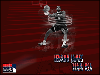 lebron james wallpaper 2009. LeBron James All-Star 2009