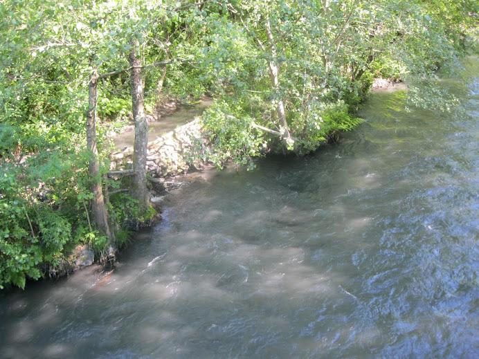 Río negro, en vez de Río Ibias
