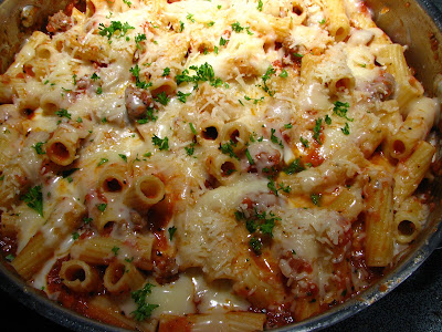 ... Recipe Box: Quick Rigatoni with Italian Sausage - A Skillet Meal