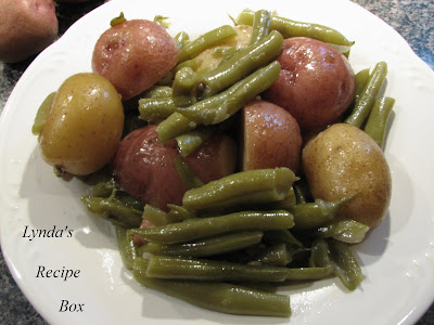 bean green new potato recipe