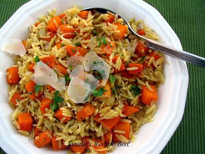 Orzo risotto recipe