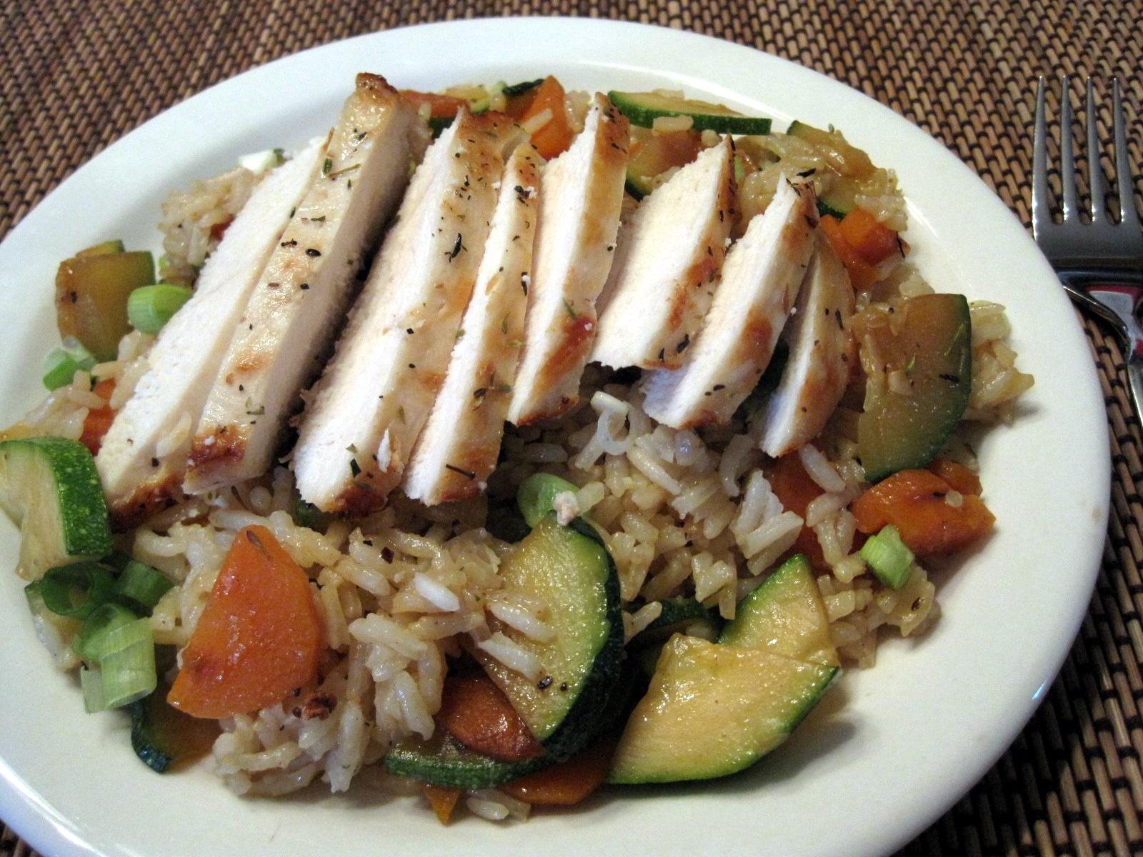 Lynda\'s Recipe Box: Garden-Fresh Chicken and Rice