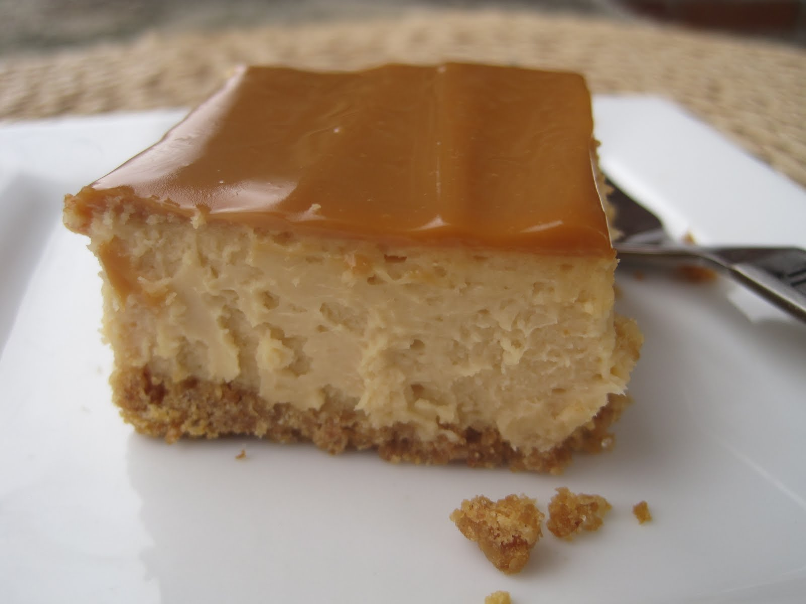 Lynda's Recipe Box: Dulce de Leche Cheesecake Bars Warning ...