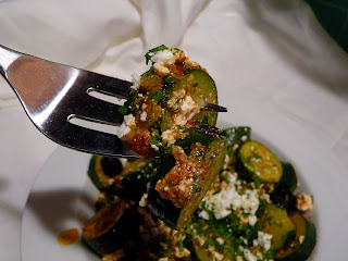Rocket LunchCanal House Cooking -- Soft Zucchini with Harissa
