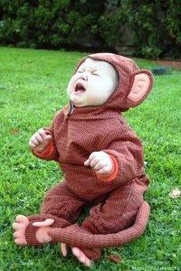 Do not take life so seriously,baby scream