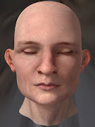 I found this face model on Modo's inventory so I used it. facerender