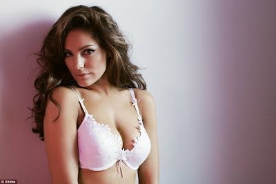 Kelly Brook Lingerie Photoshoot