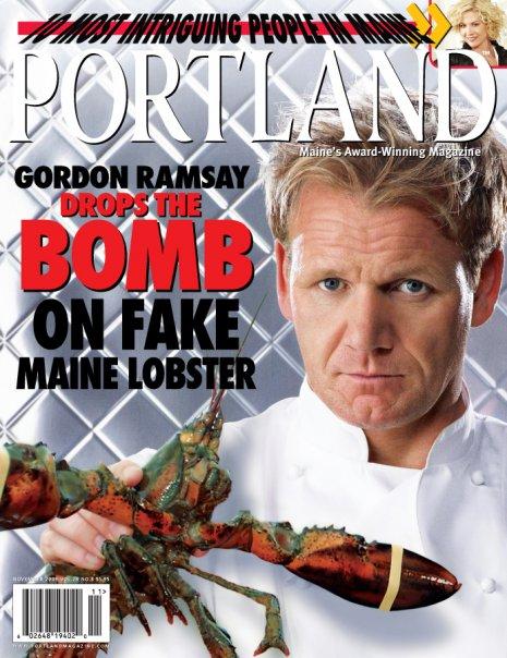 Gordon Ramsay Slams 'Fake' Maine Lobster | Maine-ly Lobster