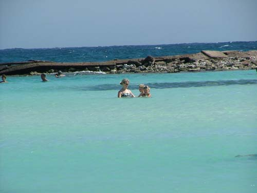e por isso deixam Aruba