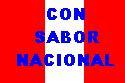 CON SABOR NACIONAL