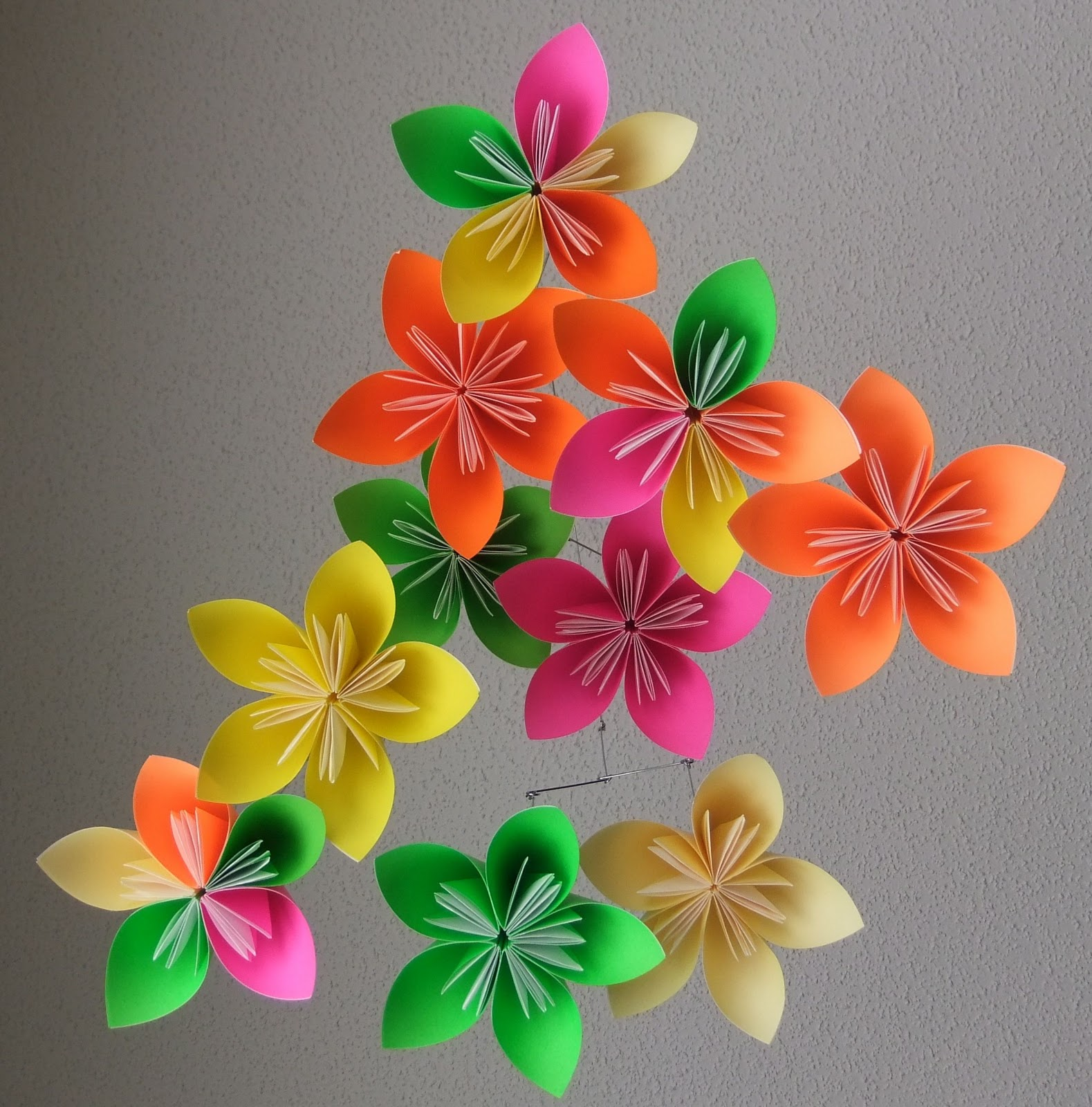 The mommy days custom etsy job it was a challenge and something different so heres to hoping i get some more custom requests for my flower mobiles frames or origami flower ornaments mightylinksfo