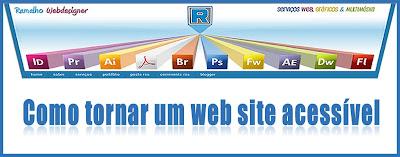 Como tornar um web site acessível