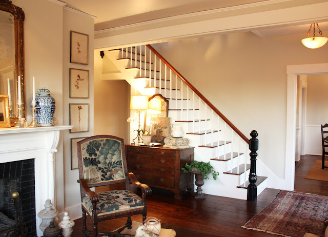 For the love of a house an entryway is an introduction - Living room with front entry ...