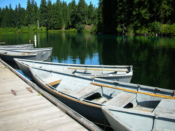 Boats - Clear Lake, Oregon