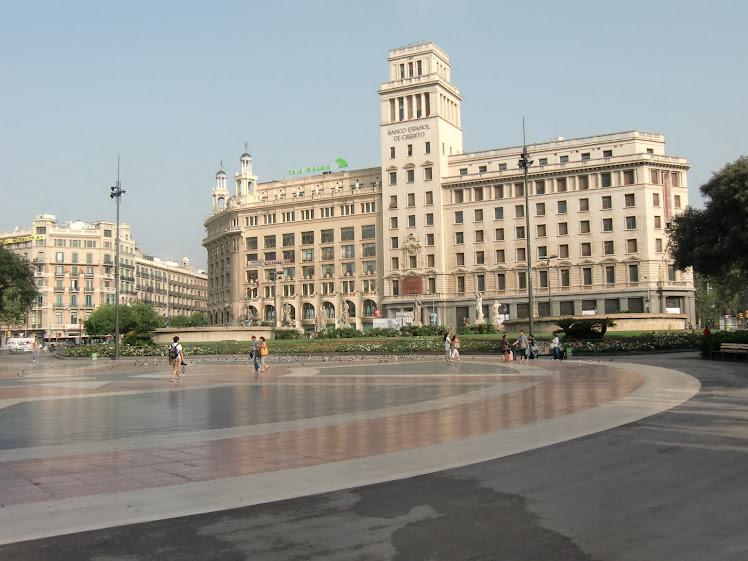 Desde Plaza Catalunya