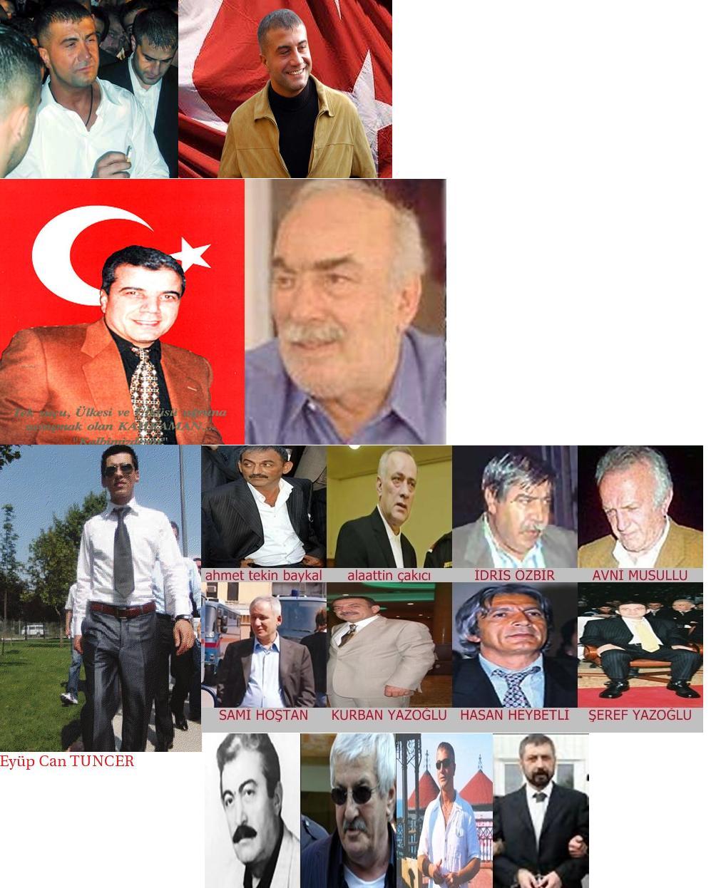 Turkmafya babaları büyükten küçüğe sedat peker sed