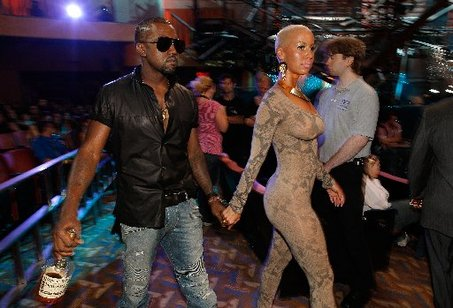 amber rose and kanye west pictures. Amber Rose and Kanye West