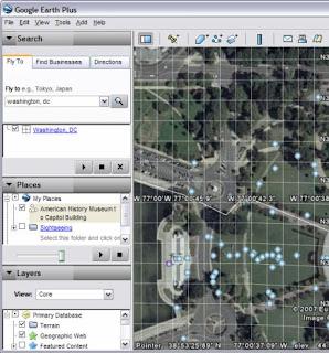 Sample Google Earth Path
