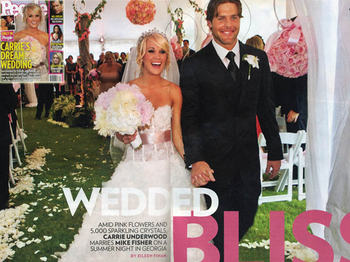 Image Gallery of Carrie Underwood Wedding Dress