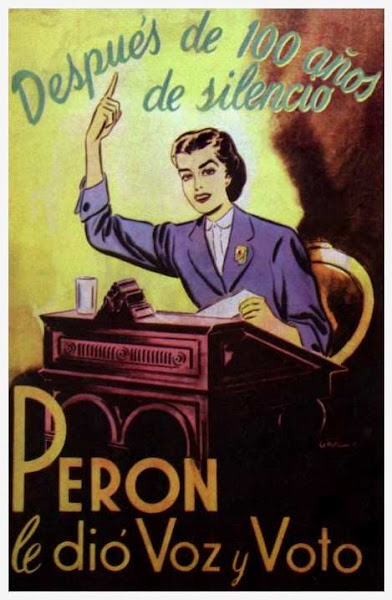 Afiche Peronista alusivo a la ley 13.010
