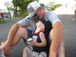 TJ & Daddy, June 12, 2008