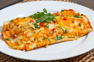 Recipe Safari: Traditional Mexican Chicken Enchiladas