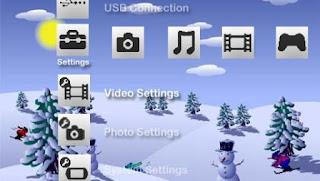 Christmas PSP Theme