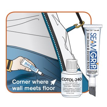 Remember to use seam sealer on the tents and do so each and every year. It is easy to buy new sealer and it is especially important to use it on your ...  sc 1 st  Outdoor C&ing Tips & Welcome To Outdoor Camping Tips: Camping Tip - Learn How to Remain Dry