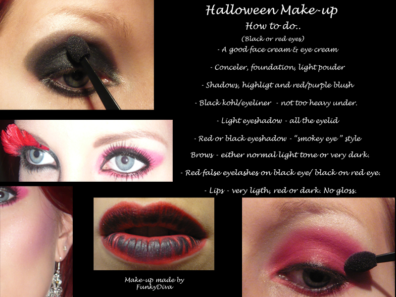 Funkydiva Halloween Make Up