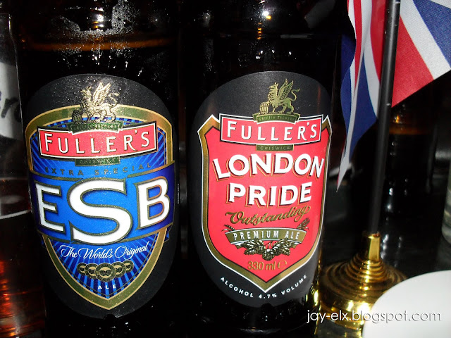 Fuller's ESB & London Pride Beer, Now in Manila