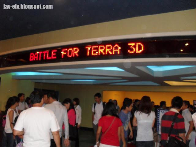 Battle For Terra @ SM North Edsa Cinema 7