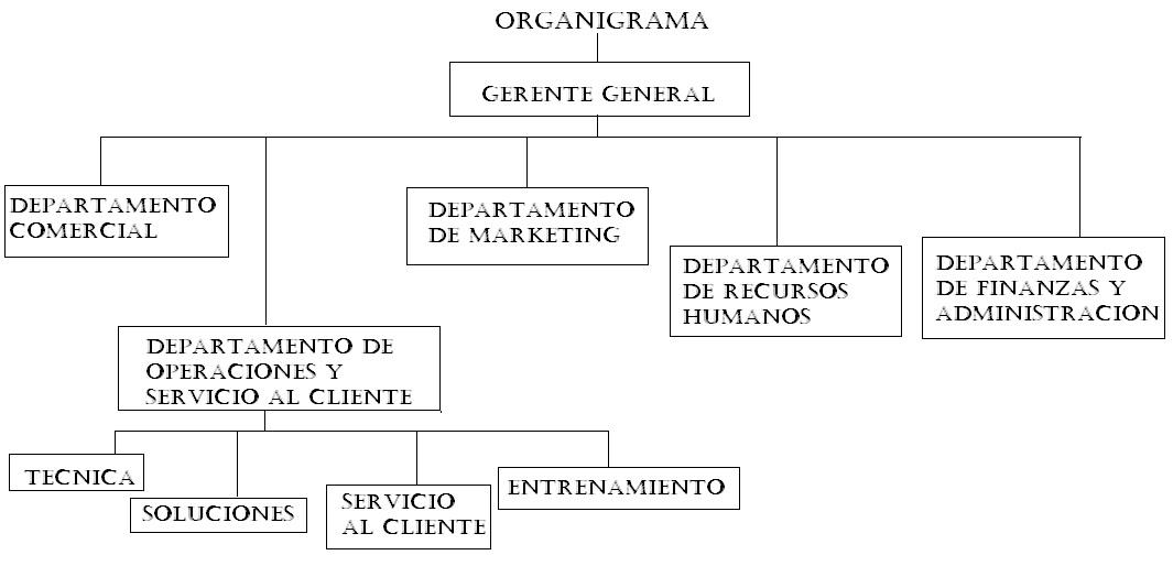 Organigrama De Nissan Mexicana >> Organigrama de agencia nissan