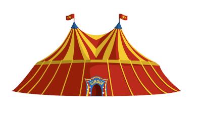 Gribouillage et compagnie petits dessins du d but de semaine - Dessin d un chapiteau de cirque ...