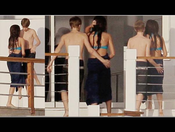 JB e Selena são flagrados 2011